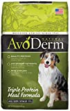 AvoDerm Natural Triple Protein Meal Formula Dry Dog Food 30 lb