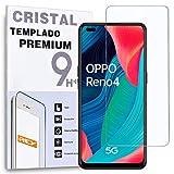 Protector de Pantalla para OPPO RENO4 5G - RENO4 Pro - OPPO A93 - RENO5 K 5G - REALME GT - REALME Q3 Pro 5G, Cristal Vidrio Templado Premium