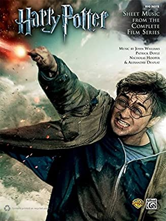 Harry Potter Sheet Music from the Complete Film Series: Big Note Piano