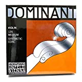 Thomastik-Infeld 135 Dominant Violin Strings, Complete Set, 135, 4/4 Size, with Aluminum W...