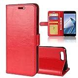 ASUS Zenfone 4 ZE554KL Brieftasche Hülle, GOGMEE® Senior