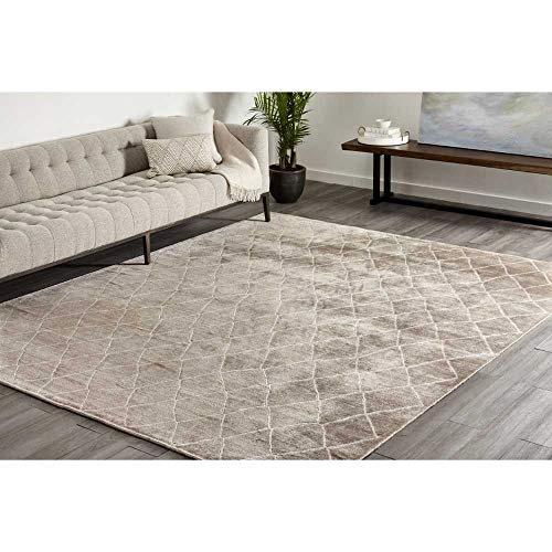 Solo Rugs Maroc Hand Knotted Indoor Area Rug, 9' 0