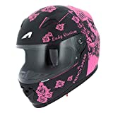 Astone Helmets gt2kg-ladyc-bpm Casco Moto Integrale GT Kid Lady, Rosa, Taglia M