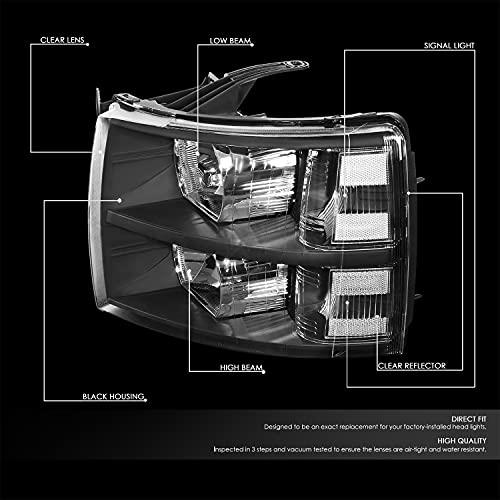 DNA Motoring Headlights For Silverado