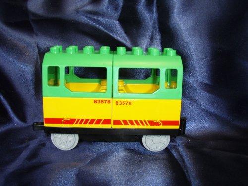 LEGO DUPLO Personenanhänger aus 5608 mit grünem Dach !!!