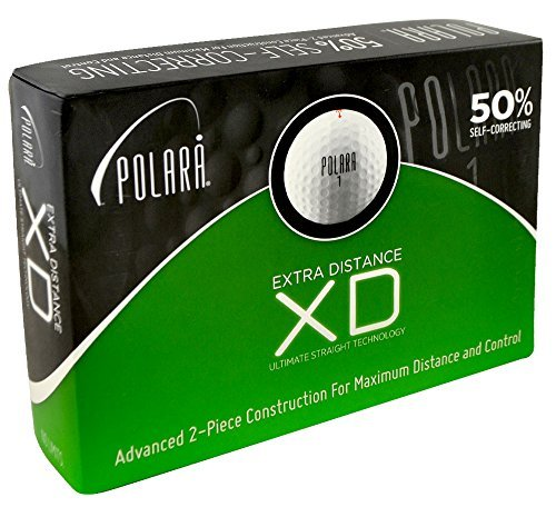 Polara Golf Polara XD 2-Piece Golf Balls (12 Pack) by