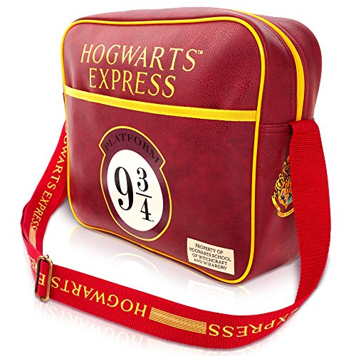 Harry Potter - Bolsa de mensajero para hombre o mujer, para escuela, trabajo o portátil, regalo para niñas o niños