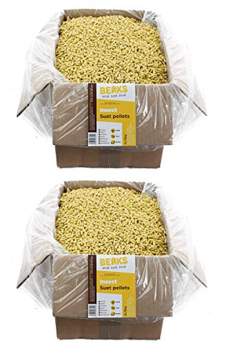 BEAKS wild bird food INSECT suet feed pellets 25kg Box free pp