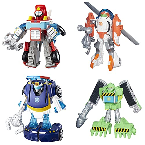 Transformers Rescue Bots, 4-Pack (Amazon Exclusive)