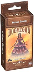 Doomtown: Reloaded is a fast‑paced expandable card game set in the Deadlands universe ofgun slingin', spell slingin' and mud‐slingin'! This product is an expansion, the base game is required to play Story Sheet about the latest movers and shakers in ...