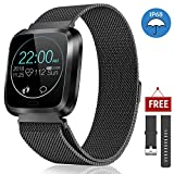 CatShin Smart Watch for Men Women,Fitness Watch Activity Tracker IP67 Waterproof with Heart Rate Monitor Sleep Monitor Blood Pressure for Android iOS