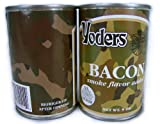 1/2 Case (6 Cans) Yoder's Premium Canned Bacon