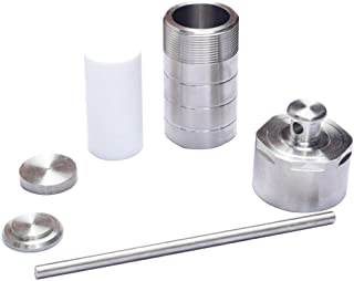 Hydrothermal Synthesis Autoclave Reactor Teflon Lined 304 Steel Hydrothermal PTFT Hydrothermal Reactor Hydrothermal Autoclave Reactor PTFE Lined Vessel (100ml)