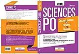 Concours Sciences Po 2018 - Concours commun des IEP + Bordeaux + Grenoble - Réussir toutes les épreuves - VUIBERT - 25/08/2017