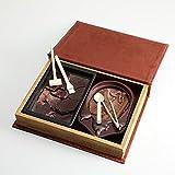 【恐竜発掘チョコレート】<オールドブック仕様>ジュラシックショコラ【ディグアップ&パズル】 ★最高級チョコレートを使った、割って!掘って!楽しむチョコレート
