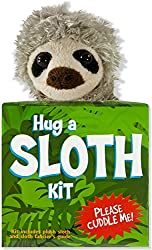 Image: Hug a Sloth Kit (book with plush), by Talia Levy (Author), David Cole Wheeler (Illustrator). Publisher: Peter Pauper Press; Box Har/to edition (October 1, 2014)