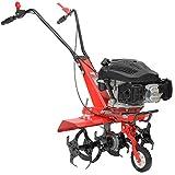 HECHT Benzin-Gartenfräse 746 Motorhacke Kultivator Bodenhacke Bodenfräse Fräse