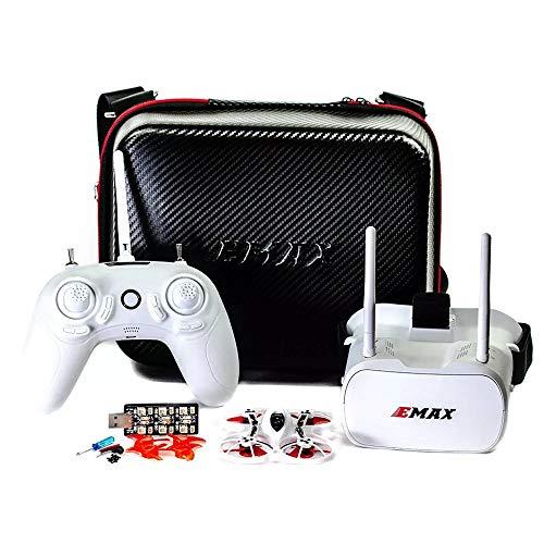 Ocamo Spielzeug Mini-Drohne Emax Tinyhawk Indoor Racing Drohne BNF RTF F4 4in1 3A 15000KV 37CH 25mW 600TVL VTX 1S RTF