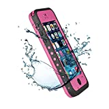 New Waterproof Shockproof Dirtproof Snowproof Protection Case Cover Only for Apple iPhone 5C Pink