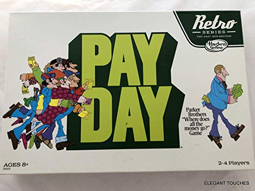 Retro Series Payday Board Game, 1975 Edition - Where Does All The Money Go, The Game of Handling Finances - Ideal Board Games for Families and Game Nights - Collectable Retro Version, Ages 8 and Up