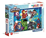 Clementoni- Marvel Super Hero Puzzle, 30 Piezas, Multicolor (20256.0)