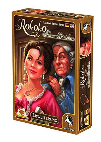 Pegasus Spiele 54526G - Rokoko Schatzkästchen (Erweiterung)