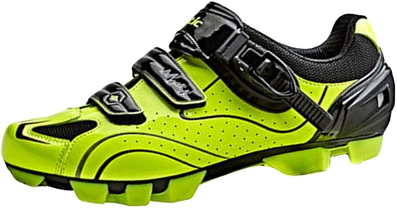 Insun Herren Radsportschuhe Mountainbike Fahrrad Schuhe MTB Schuhe