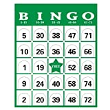 60 PCS/Set Complete Bingo Game Card Set Cage Balls Cards Markers Board Kit Family Night Fun Toys