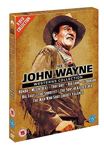 John Wayne Westerns Collection (9 Discs) [Edizione: Regno Unito] [Reino Unido] [DVD]