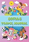 Sofia's Travel Journal: Personalised Awesome Activities Book for USA Adventures