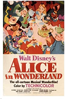Best alice in wonderland movie poster 1951 Reviews