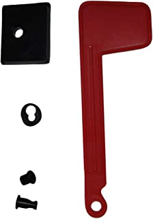 Gibraltar Mailboxes Rust-Proof Plastic Red, Mailbox Replacement Flag Kit, RFL10000