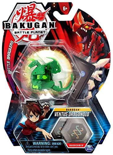 BAKUGAN Battle Planet Basic Battle Brawlers, Ventus Dragonoid