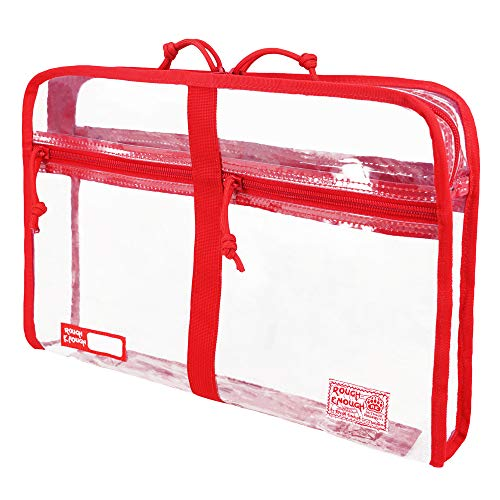 ROUGH ENOUGH, Trousse de toilette , Red (rouge) - RE8392