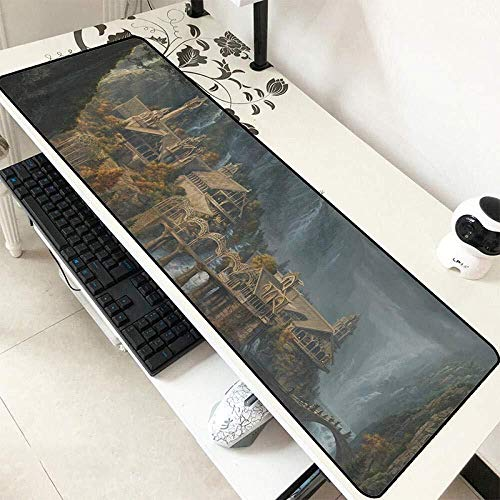 WYQLZ Gaming Mouse Pad The Lord of The Rings Large Mouse Mat Game Keyboard Mat Cafe Mat Extended Mousepad for Computer Desktop PC Mouse Pad (Color : 5, Size : 8003003mm)