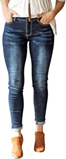 L&B Women's Dark wash Skinny Jeans