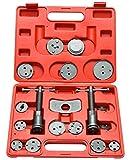 FreeTec 18 pièces Coffret d'outils repousse piston d'étrier de freins
