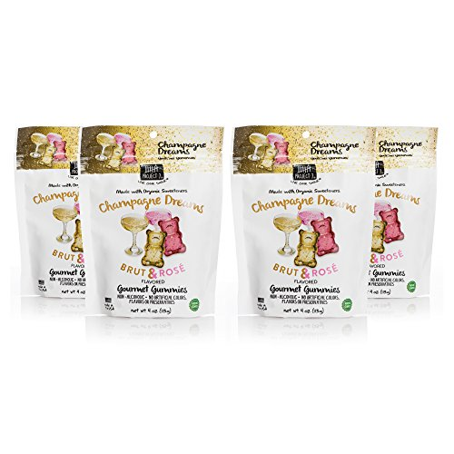 Project 7 Gummies - 4 oz. Pouches (Champagne Dreams, 4 Ounce (Pack of 4))