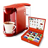 UCC コーヒーメーカー [ドリップポッド] 本格 ドリップコーヒー カプセル式 (レッド) DP2(R) + UCC ドリップポッド お試しカプセル12個 ポッド・カプセル