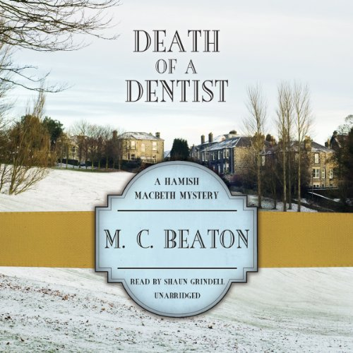Death of a Dentist audiobook cover art