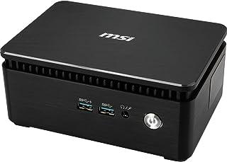 MSI Cubi 3 Silent S-052EU 7ª generación de procesadores Intel® CoreTM i3 i3-7100U 4 GB DDR4-SDRAM 256 GB SSD Negro Mini PC