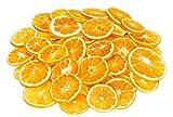 NaDeco Orangenscheiben 50 Stück Getrocknete Orangenscheiben Weihnachtsdekoration Adventsdekoration Bastel Material für die Weihnachtszeit