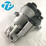 PCV Valve Oil Trap Oil Filter Housing FIT 04-15 Volvo C70 S40 V50 31338685
