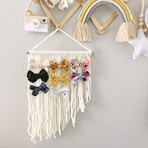 girls bedroom decor hair bow holder large hair clips NEW Hair clip holder