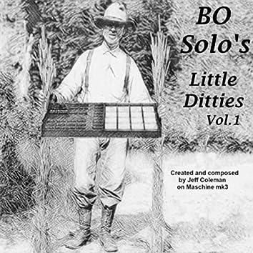 Bo Solo's Little Ditties Vol. 1