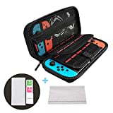 Carry Case & Screen Protector Compatible with Nintendo