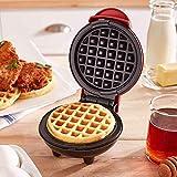 LIUCHANG Doble Waffle Maker Tostadora eléctrica Llenado Profundo Llena Antiadherente Placas de Recubrimiento Desayuno Máquina de Muffin para facilitar la Limpieza, Rosa liuchang20 (Color : Black)