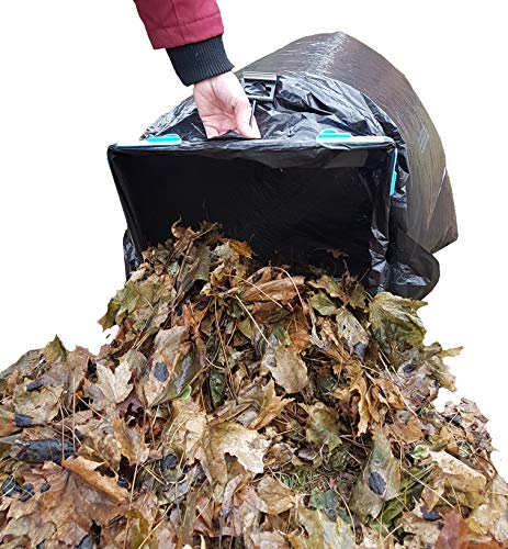 Review BagEZ Portable Garbage Bag Holder- Truly Multi Purpose Use As a Leaf Bag Holder or Make Yard ...