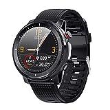 Yaootely Full Press Smart Watch Herren Sportuhr IP68 Wasserdichter Herzfrequenzmesser Smartwatch für IOS Android Phone