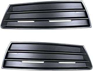 Koolzap For 09-12 VW CC Front Bumper Fog Lamp Grill Grille Cover Left & Right Side PAIR SET